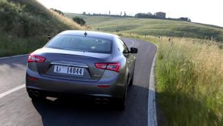 Nuevo Maserati Ghilbi, trasera