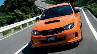 Subaru WRX STI TS Type RA dinámica