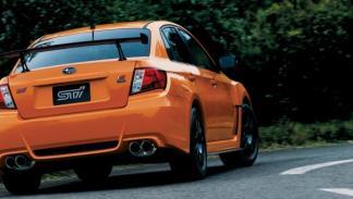 Subaru WRX STI TS Type RA trasera