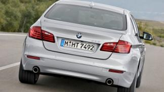 BMW Serie 5 2013 trasera dinámica