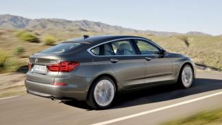 BMW Serie 5 GT 2013 3/4 trasera dinámica