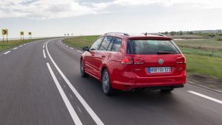 Trasera del Volkswagen Golf Variant 7