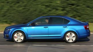 Skoda Octavia RS movimiento