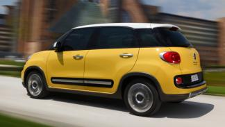Fiat 500 Trekking trasera