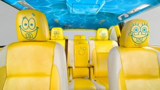 Toyota Highlander de Bob Esponja interior