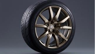 Nissan GT-R Midnight Opal rueda