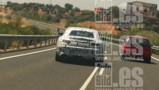 Mercedes CLK 2016 trasera