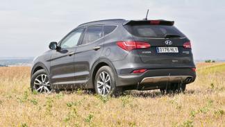Hyundai Santa Fe trasera