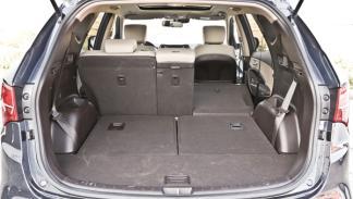 Hyundai Santa Fe maletero