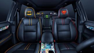Kia Sorento Justice League interior
