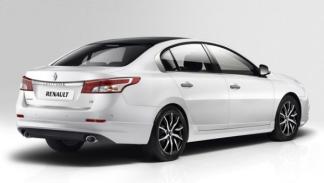 Renault Latitude 2014 trasera