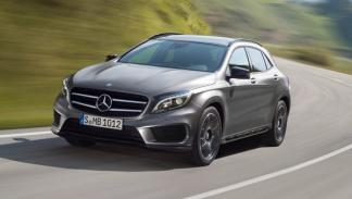 Nuevo Mercedes GLA frontal dinámica