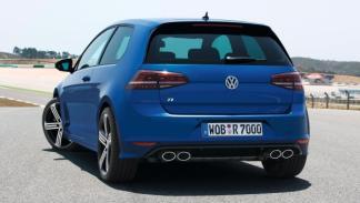 Volkswagen Golf R VII trasera