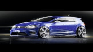 Volkswagen Golf R VII boceto