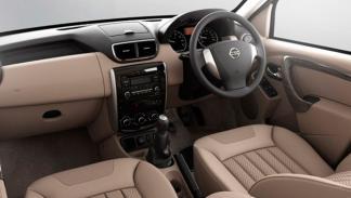 Nissan Terrano 2013 interior
