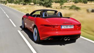 Jaguar F-Type S trasera