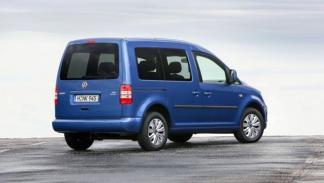 Volkswagen Caddy Bluemotion 2014 trasera