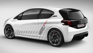 Peugeot 208 Hybrid FE imagen trasera