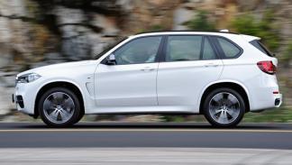 BMW X5 M50d 2014 perfil