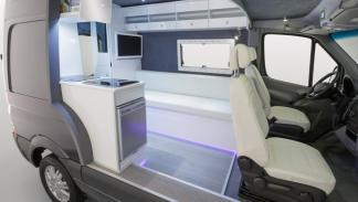Mercedes Sprinter Caravan Concept interior