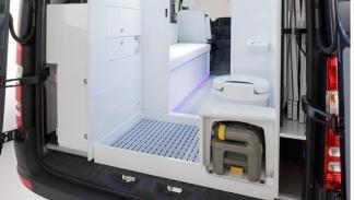 Mercedes Sprinter Caravan Concept baño