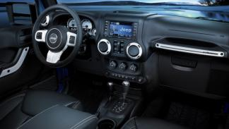 Jeep Wrangler Polar salpicadero