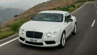 Bentley Continental GT V8 S Coupé delantera