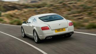 Bentley Continental GT V8 S Coupé trasera