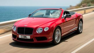 Bentley Continental GT V8 S Convertible delantera