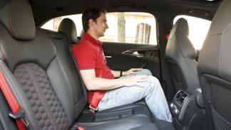 Audi RS6 Avant plazas traseras