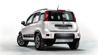 Fiat Panda 4x4 Antartica trasera
