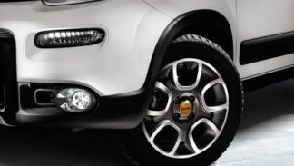 Fiat Panda 4x4 Antartica ruedas