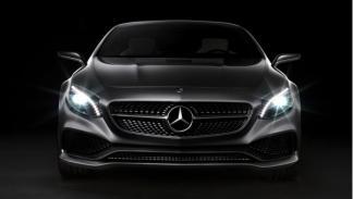 Mercedes Benz Clase S Coupé Concept Frontal