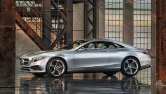Mercedes Benz Clase S Coupé Concept Lateral
