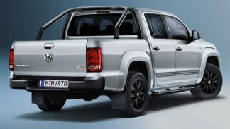 Volkswagen Amarok Dark Label trasera - Salón de Frankfurt 2013