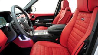 Range Rover Startech asientos delanteros