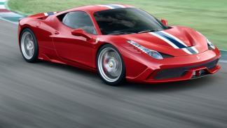 Ferrari 458 Speciale frontal