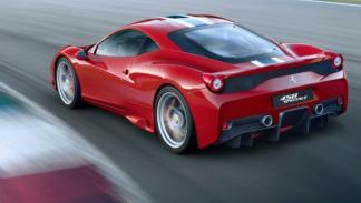 Ferrari 458 Speciale lateral