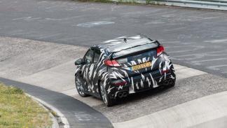 Trasera del Nuevo Honda Civic Type-R