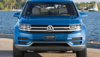 Volkswagen CrossBlue frontal