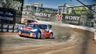 Loeb medalla de oro Citroën DS3 XL X Games