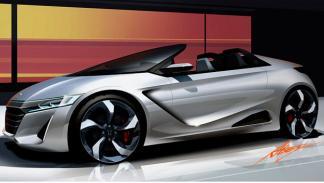 Honda S660 Concept dibujo