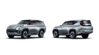Mitsubishi GC-PHEV delantera zaga