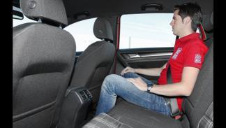 Volkswagen Golf GTD 2013 plazas traseras