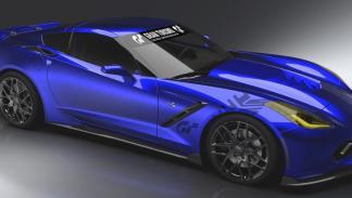 Chevrolet Corvette Gran Turismo delantera