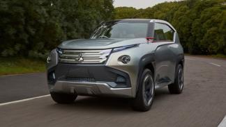 Delantera del Mitsubishi GC-PHEV Concept