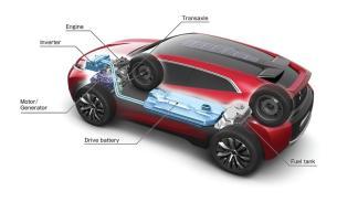 Tecnología del Mitsubishi XR-PHEV Concept