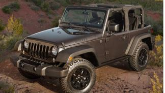 Jeep Wrangler Willys delantera