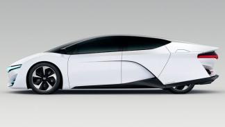 Honda FCEV Concept perfil