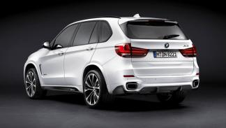 BMW X5 paquete 'M Performance' trasera